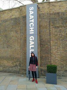 Kerrie Saatchi Gallery LFW